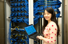 Photo of person in Data Center