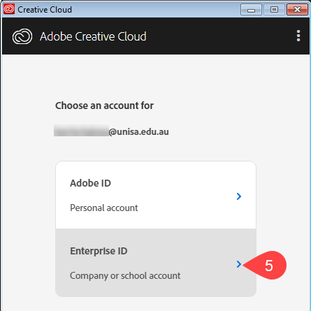 Sign in with an Enterprise ID