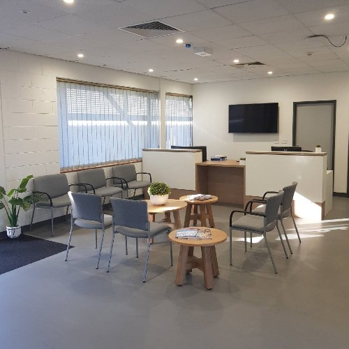 Whyalla Health Clinic reception