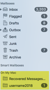 MAC HELP: How do I archive my emails on a Mac through Apple