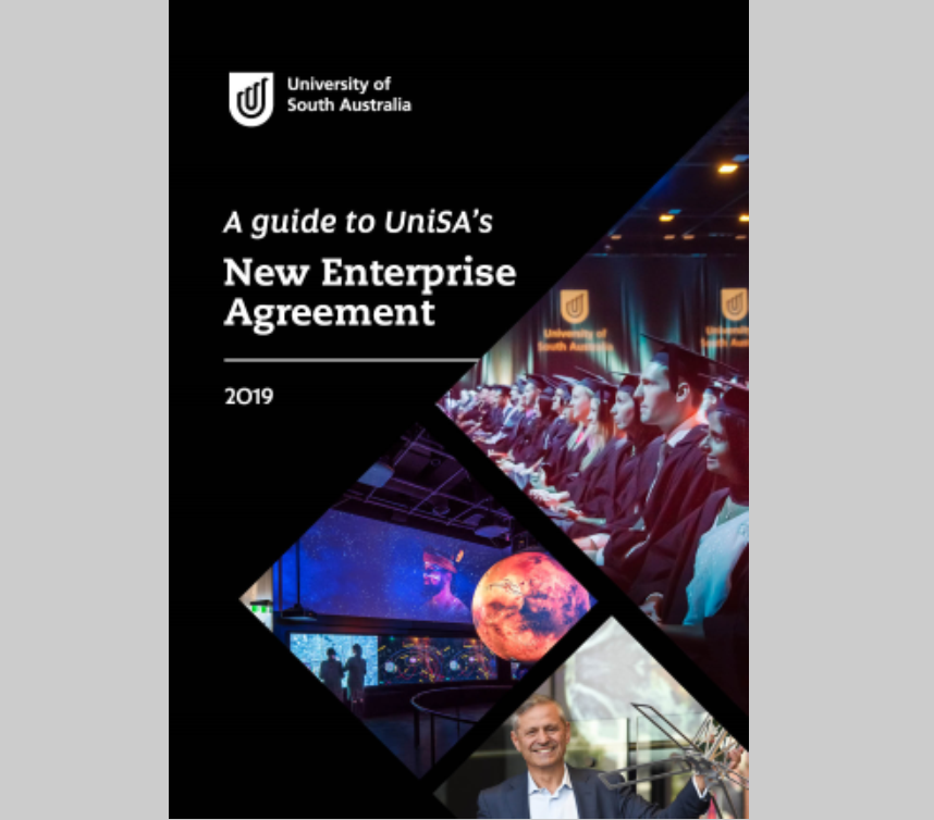 A guide to UniSA's New Enterprise Agreement
