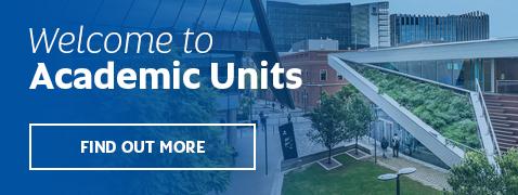 Academic Units now live!