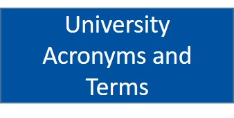 Uni Acronyms and Terms